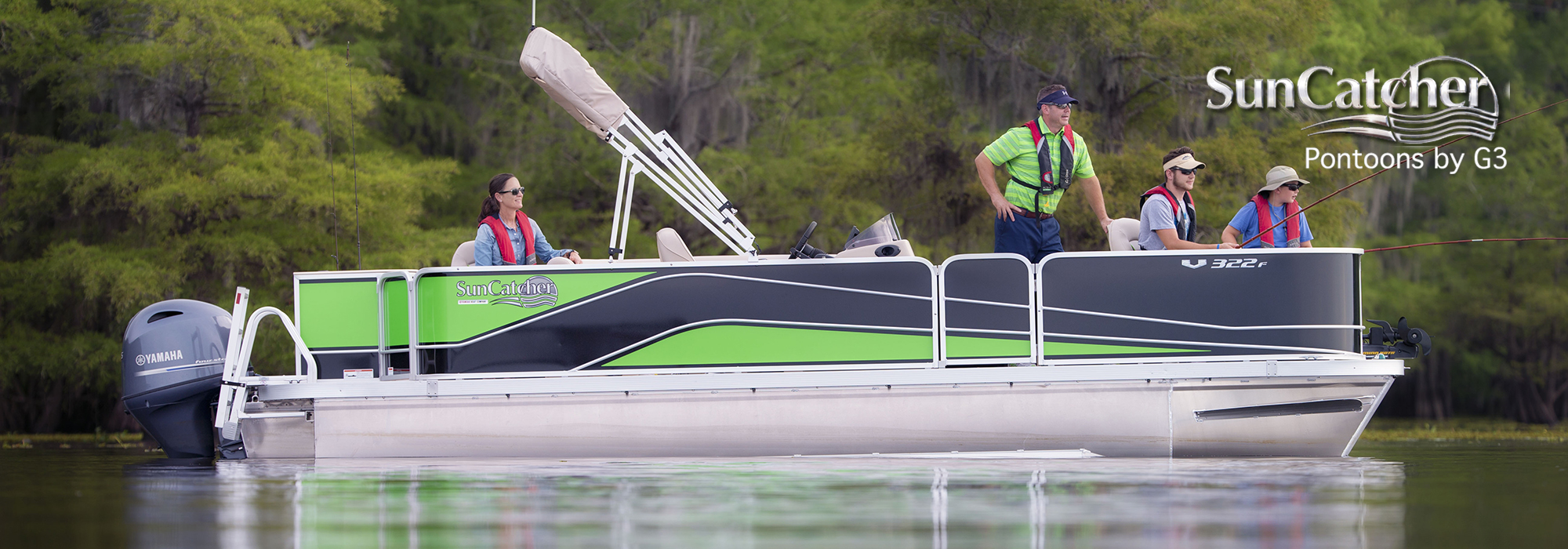 sun catcher pontoons v series v322 fc