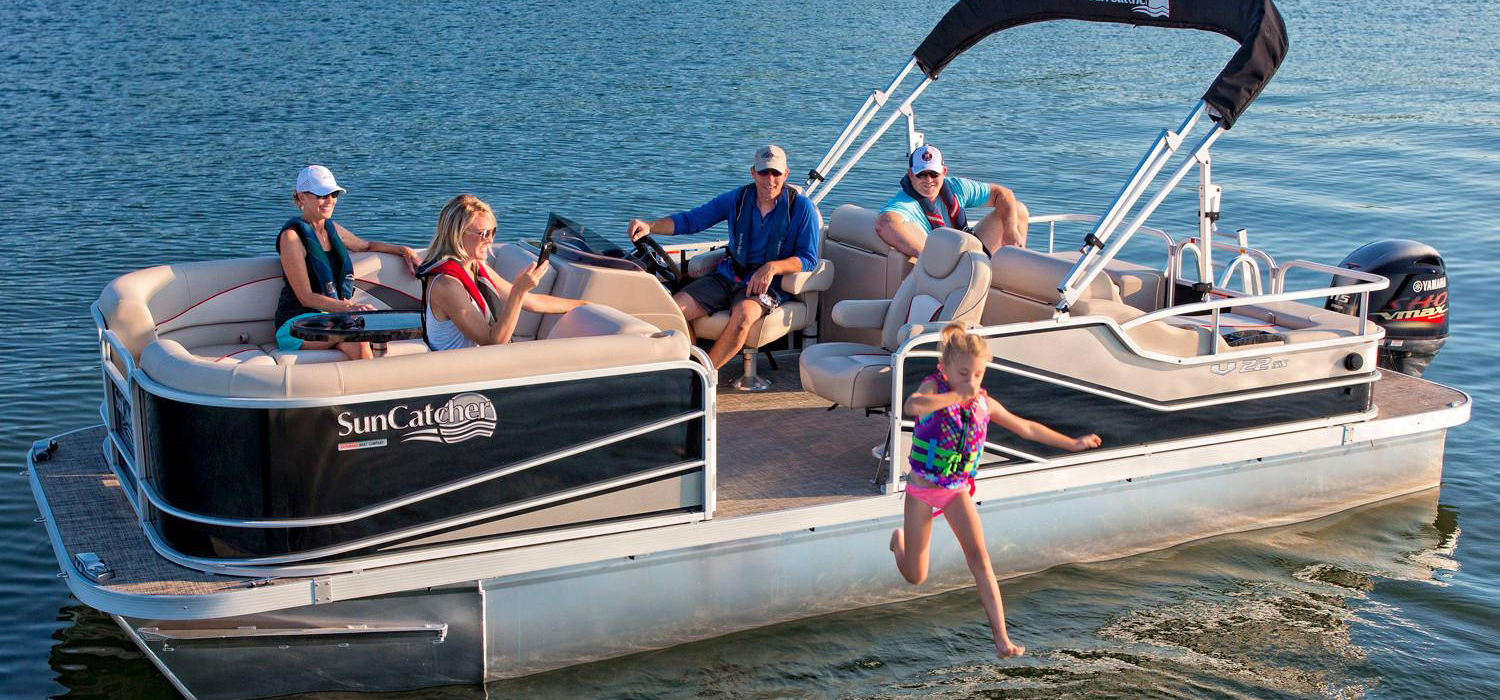 G3 Sun Catcher V322 pontoon rental