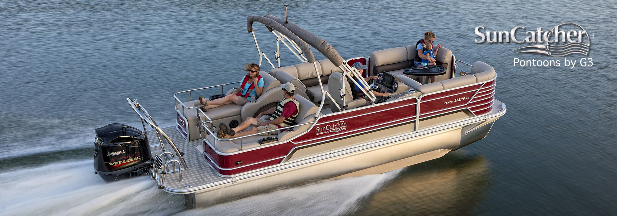 sun catcher pontoons elite 324 ss