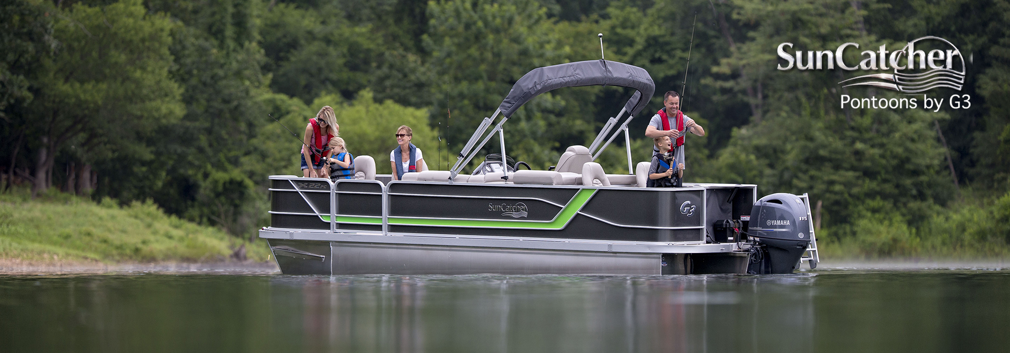 sun catcher pontoons x series x22